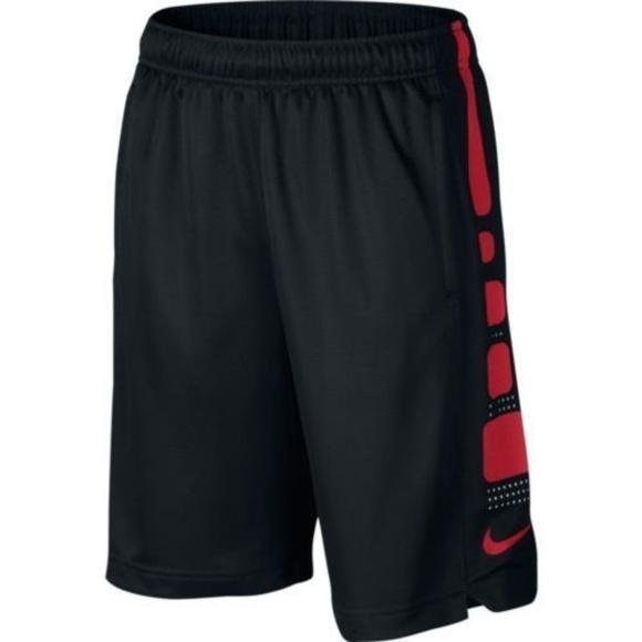 ae5dd754c191 Nike Boys Elite Stripe Big Boys Basketball Shorts
